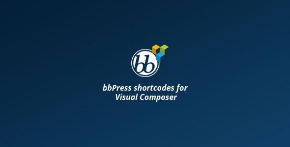 BBPRESS SHORTCODES FOR VISUAL COMPOSER