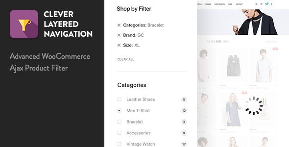CLEVER LAYERED NAVIGATION WOOCOMMERCE AJAX PRODUCT FILTER