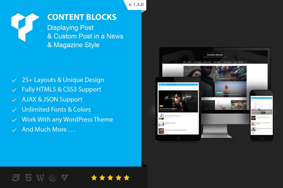 CONTENT BLOCKS LAYOUT FOR WPBAKERY PAGE BUILDER