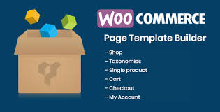 DHWCPage WooCommerce Page Template Builder