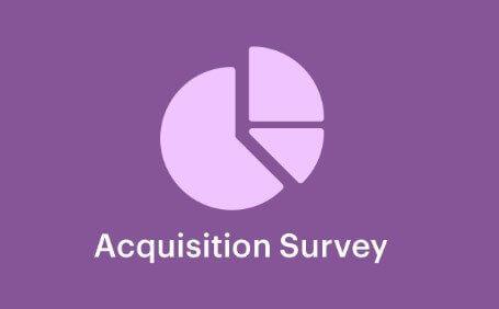 Easy Digital Downloads Acquisition Survey Addon