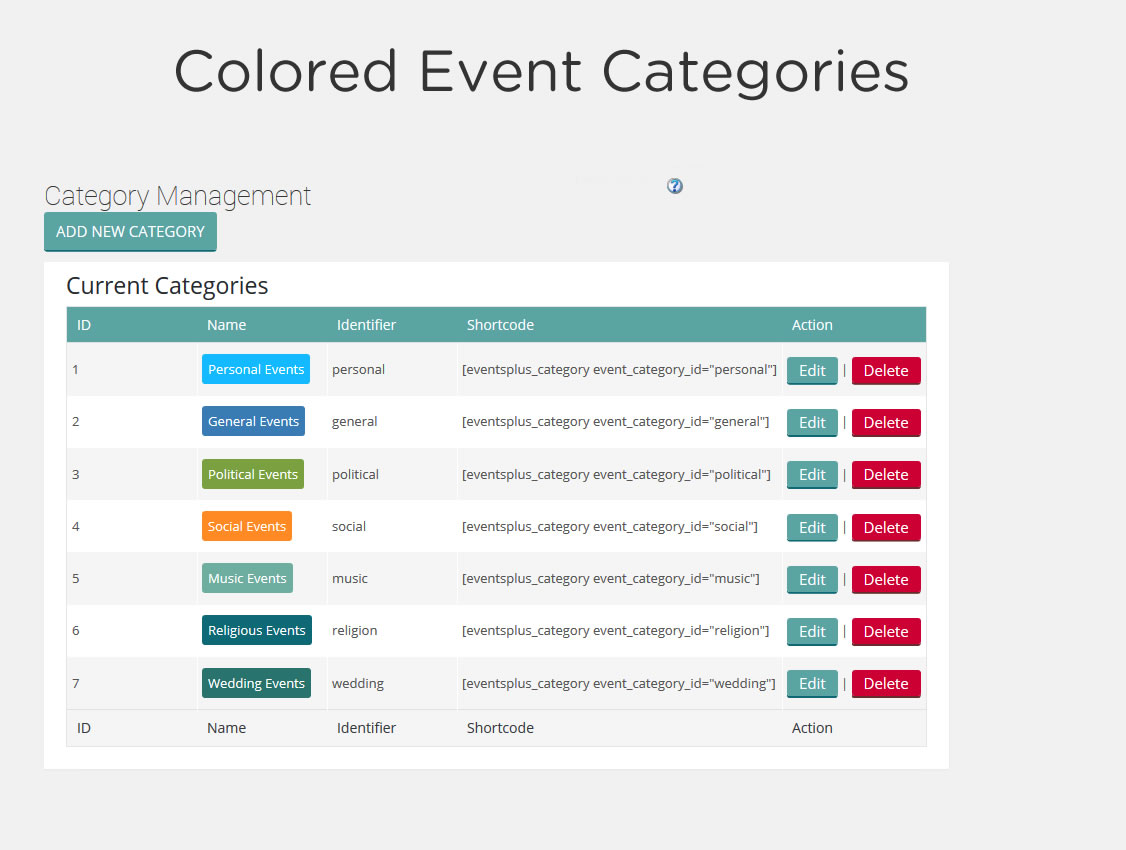 Events Calendar Registration & Tickets