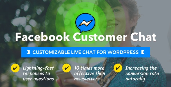 Facebook Customer Chat – Customizable Live Chat for WordPress
