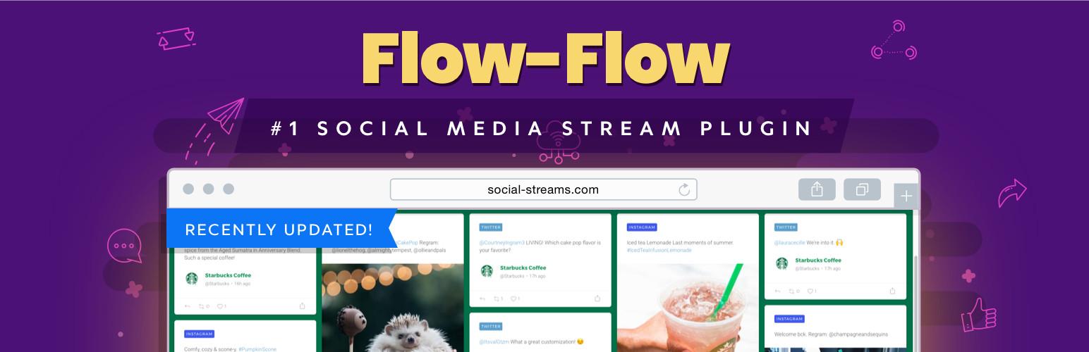 FLOW-FLOW – WORDPRESS SOCIAL STREAM PLUGIN