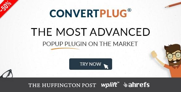 Popup Plugin For WordPress – ConvertPlus