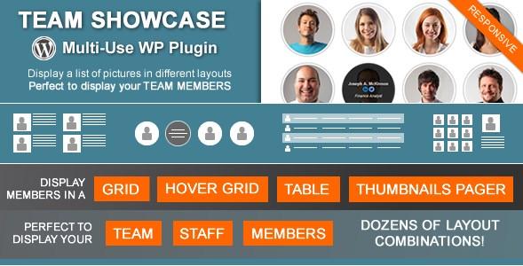 Team Showcase – WordPress Plugin