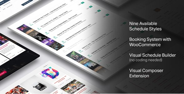 Events Schedule – WordPress Plugin