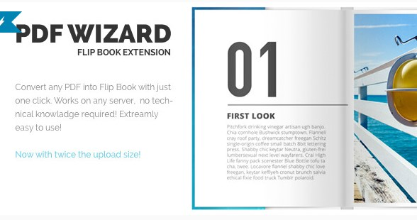 PDF To FlipBook Extension
