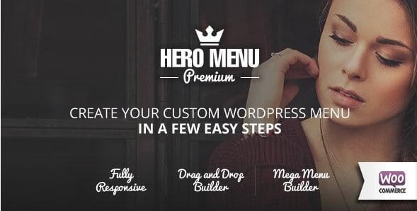 Hero Menu – Responsive WordPress Mega Menu Plugin