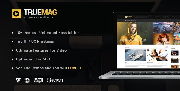 True Mag – WordPress Theme for Video and Magazine - Gpl Download