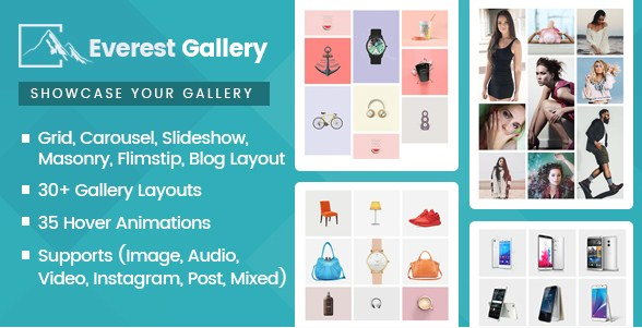 Everest Gallery – Responsive WordPress Gallery Plugin - Gpl Pulse