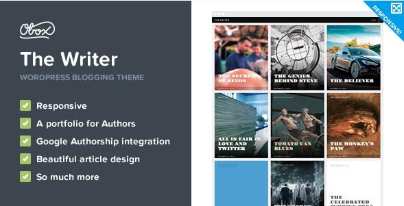 The Writer – Premium WordPress Blogging Theme