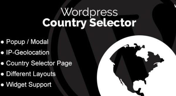 WordPress Country Selector WordPress Plugin