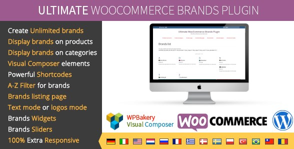 Ultimate WooCommerce Brands Plugin - Gpl Pulse