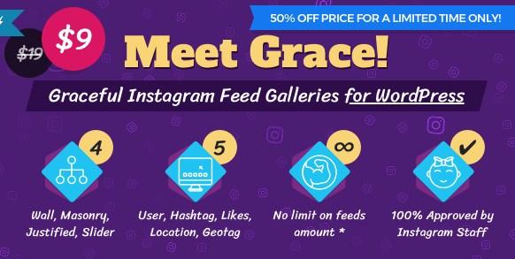 Instagram Feed Gallery – Grace for WordPress