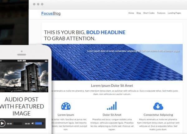 Thrive Themes Focusblog WordPress Theme - Gpl Download