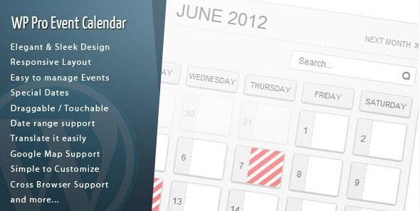 WordPress Pro Event Calendar - Gpl Pulse