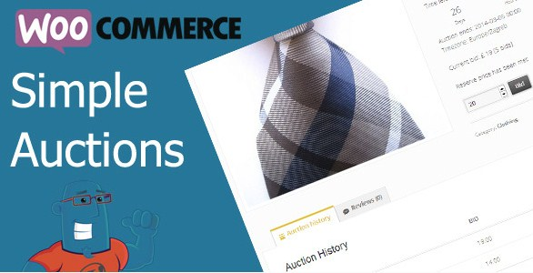 WooCommerce Simple Auctions – WordPress Auctions - Gpl Pulse