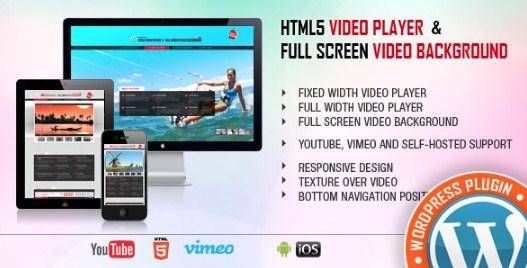 Video Player & FullScreen Video Background – WP Plugin