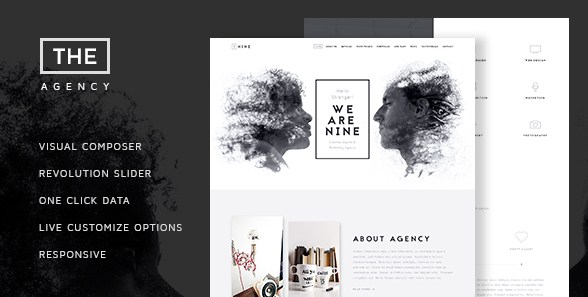 The Agency – Creative One Page Agency Theme - Gpl Download