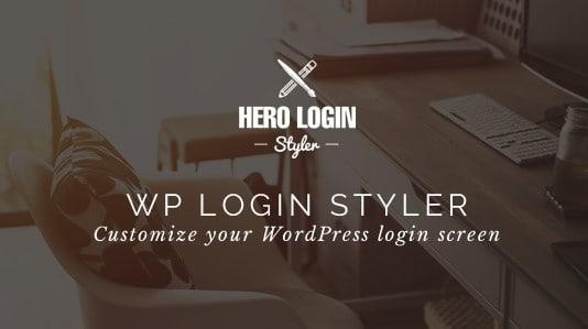 Hero Login Styler – WP Login Screen Customizer