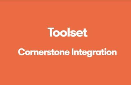 Toolset Cornerstone Integration