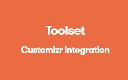 Toolset Customizr Integration
