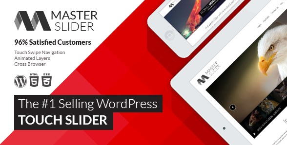 Master Slider – WordPress Responsive Touch Slider