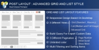 ADVANCE POST GRID LIST WITH CUSTOM FILTERING FOR VISUAL COMPOSER 3.9