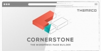 CORNERSTONE – THE WORDPRESS PAGE BUILDER 5.2.3