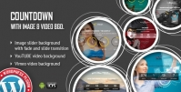 COUNTDOWN WITH IMAGE OR VIDEO BACKGROUND WORDPRESS PLUGIN 1.3