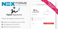 Digital Signatures for NEX-Forms 7.5.12.1