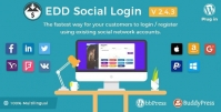 Easy Digital Downloads – Social Login 2.2.9