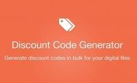 Easy Digital Downloads Discount Code Generator Addon 1.2