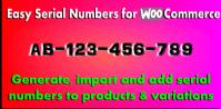 Easy Serial Numbers for WooCommerce – WordPress Plugin 1.32