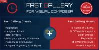 Fast Gallery for Visual Composer WordPress Plugin 4.0