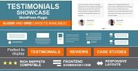 Testimonials Showcase – WordPress Plugin 1.9.10