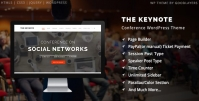 The Keynote – Conference Event Meeting WordPress Theme 2.23