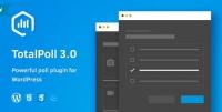 TotalPoll Pro – Responsive WordPress Poll Plugin 4.5.0
