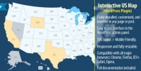 Interactive US Map – WordPress Plugin 2.2.4