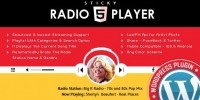 Sticky Full Width Radio Player WordPress Plugin 3.2.1