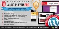 Responsive HTML5 Audio Player PRO WordPress Plugin 3.5.1