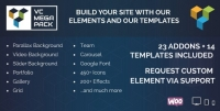 Visual Composer Mega Pack – Addons and Templates 1.2