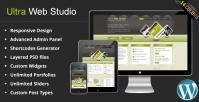 Ultra Web Studio, Blog & Portfolio WordPress Theme 2.16