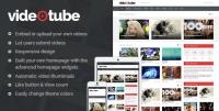 VideoTube Responsive Video WordPress Theme 2.2.9
