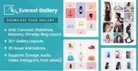 Everest Gallery – Responsive WordPress Gallery Plugin 1.0.3
