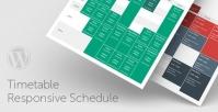 Timetable Responsive Schedule For WordPress 6.6