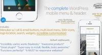 Touchy – WordPress Mobile Menu Plugin 4.4