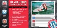 Revolution Video Player With Bottom Playlist 2.8