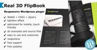 Real 3D FlipBook WordPress Plugin 3.18